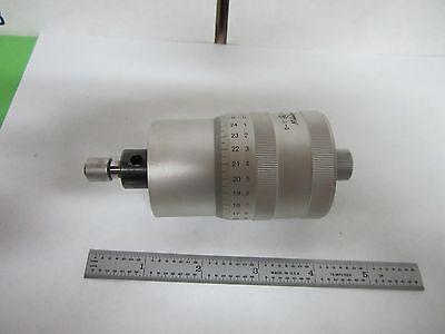 Microscope Part Mitutoyo 152-392 Stage Micrometer As Is Binr9-03