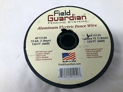 Field Guardian Af15150 15-gauge Aluminum Wire 150 Electric Fence