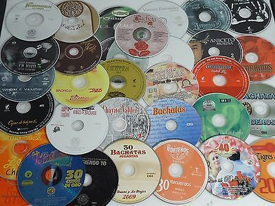 50 CD DISC ONLY WHOLESALE LOT SPANISH CORRIDOS CUMBIAS NORTENO BACHATA MARIACHI