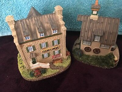 Liberty Falls Sinclair Hotel & Carriage House  HSE 2a &2b decorative collectible