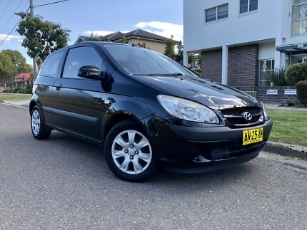 2007 Hyundai Getz TB Black 4Speed Auto Hatchback 6months Rego Low Kms Liverpool Liverpool Area Preview