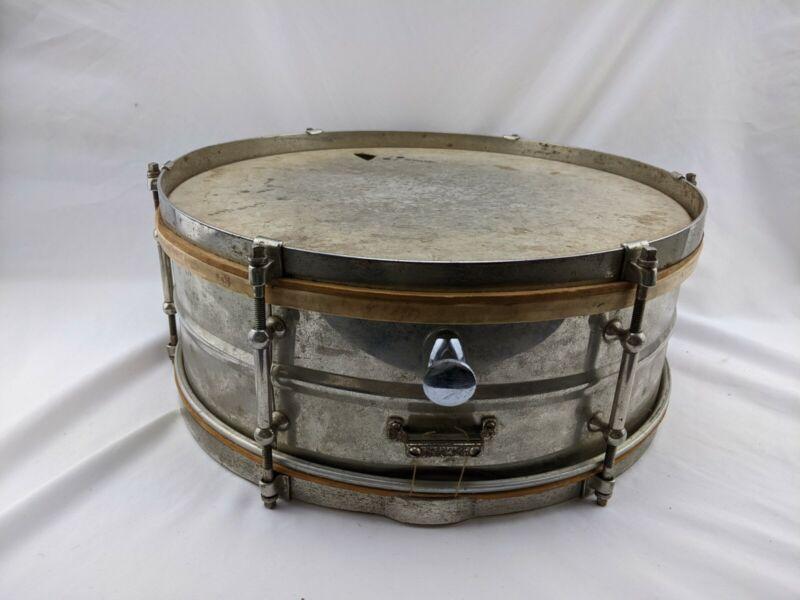 Vintage Slingerland Universal 1930s Six Lug Snare Drum
