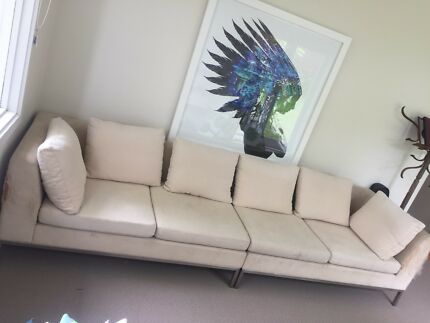 Large 4 seater couch - needs some love