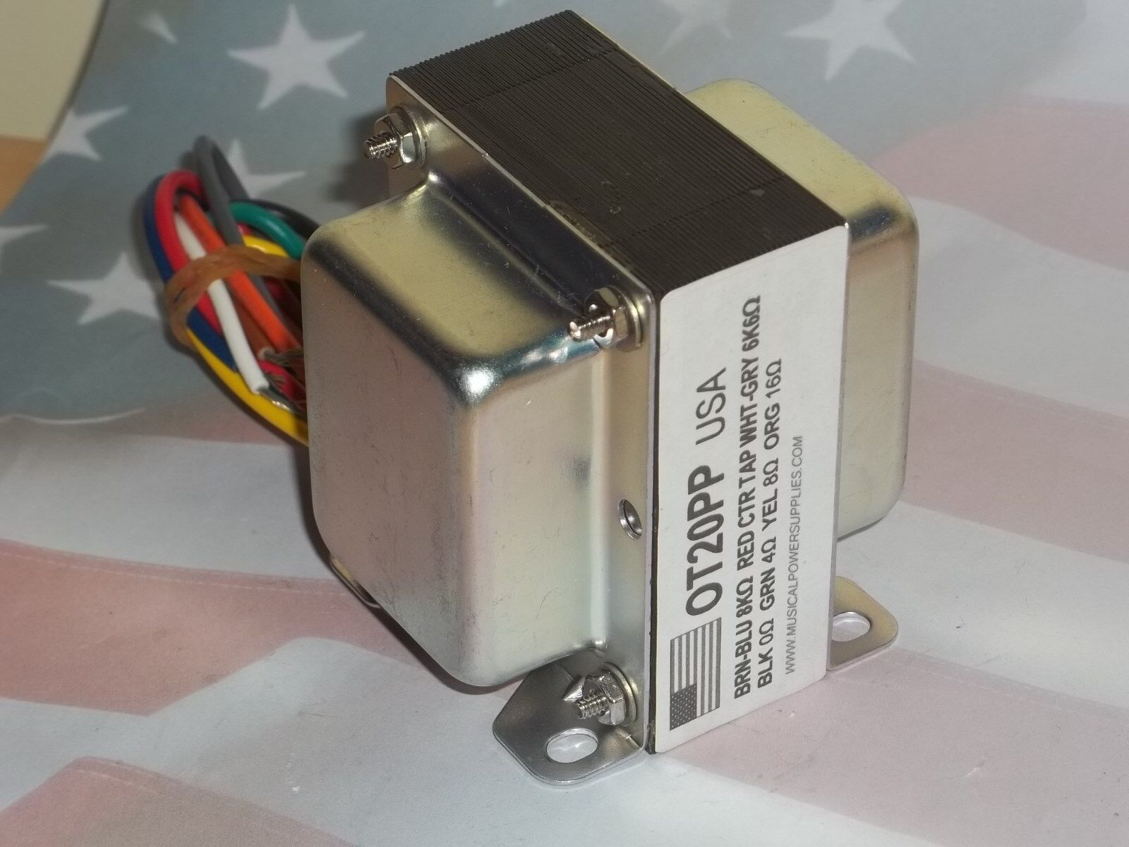 OT20PP (USA) Output transformer VC87 Covers 25VA & 8K/6K6 to 4/8/16 ohm |  Shopping Bin - Search eBay faster