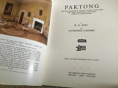 PAKTONG by  W D JOHN & K COOMBES Chinese Silver Alloy