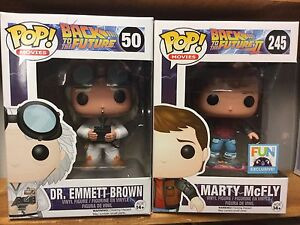 Back to the Future Funko! Dr. Brown & Marty Exclusive!
