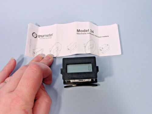 Trumeter 3400-2010 Counter With LCD Screen; 8 Fig; Reset; 10-300VDC; 20-300 VAC