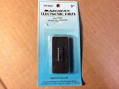 Nos Radio Shack Ins8224n Ic Chip Clock Generator Archer 276-2524