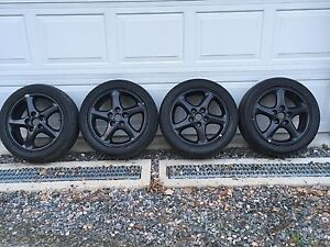 Summer Tires on Alloy Rims