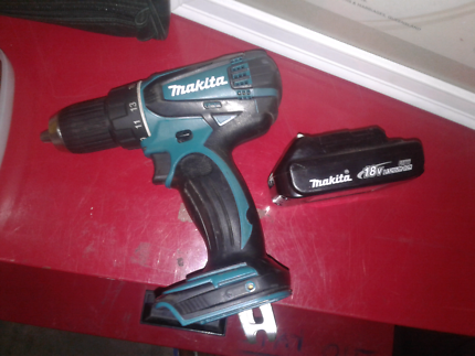 Drill and battery $80
