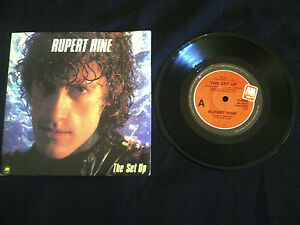 RUPERT-HINE-THE-SET-UP-Limited-Edition-7-SINGLE-45rpm-VINYL-RECORD