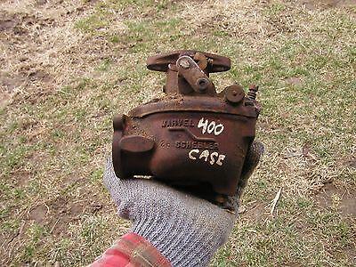 Case 400 Tractor Marvel Schebler Carburetor Off Of A Running Case Tractor