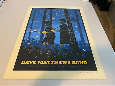 Dave Matthews Band Poster The Gorge 09.01.2013 Dave Matthews Band