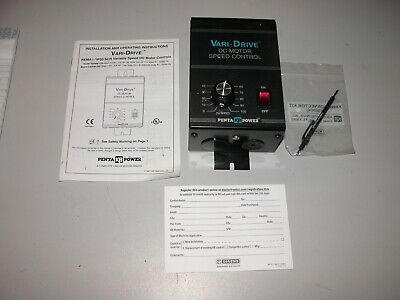New Open Box Vari-drive Dc Motor Speed Control Kbwm-120 9380g