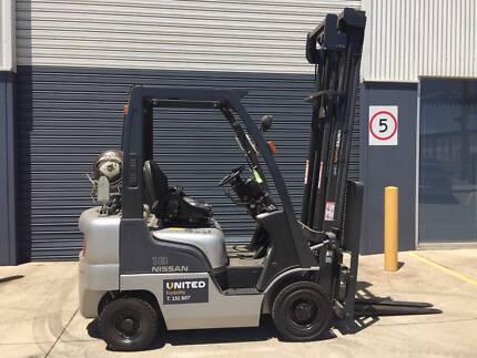 Nissan 1.8 Tonne Used LPG Forklift - New Paint  32-FI478