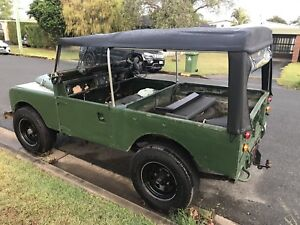 Series 1 Land Rover 1958