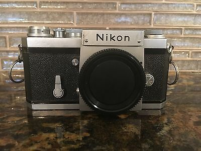 Vintage Nikon F 35mm Film Camera Body Only