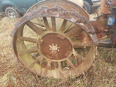 Ford 600 800 Series Work Master Steel Wheels Pair