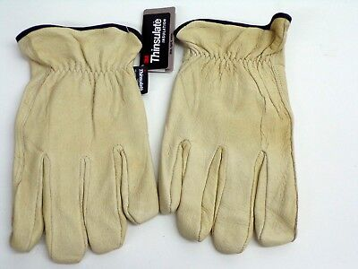 New West Chester Thinsulate Lined Pigskin Leather Driver Gloves Xxl -free Ship