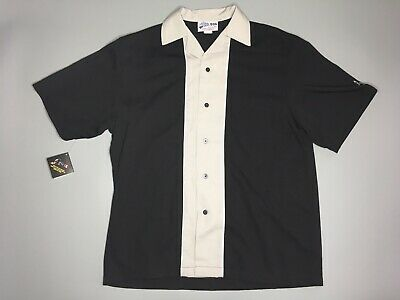 dda494139710 Cruisin' USA Large Men's Bowling Polo Shirt Big Bob's Bowl-A-Rama 2007