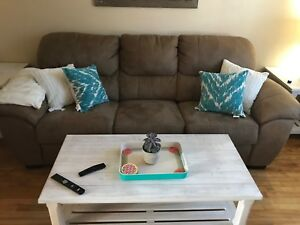 REDUCED!!! - Memory Foam Couch