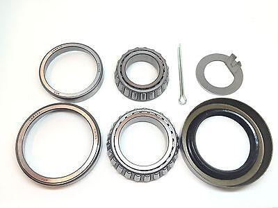 Trailer Wheel Bearing Seals - Trailer Hub Wheel Bearing Kit L44649 L68149 Seal 1.719'' for 3500# EZ Lube Axles