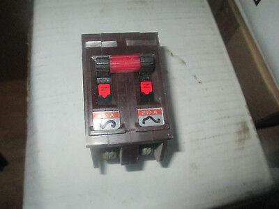 Wadsworth 20 Amp 2 Pole Circuit Breaker Free Shipping