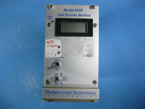 Wedgewood Technology Cell Growth Monitor -- Model 652R -- Used