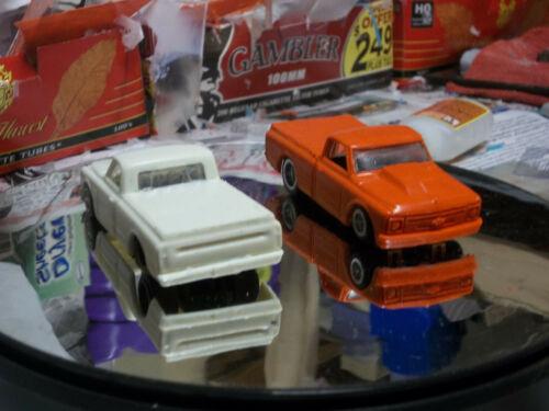 custom resin cast Chevy C-10 street rod 1/64 scale slot car body reproduction