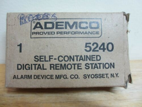 Ademco 5240 Self-Contained Digital Remote Station, in Box