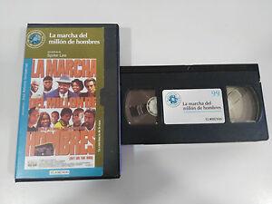 LA-MARCHA-DEL-MILLON-DE-HOMBRES-TAPE-VHS-COLECCIONISTA-SPIKE-LEE-GET-ON-THE-BUS