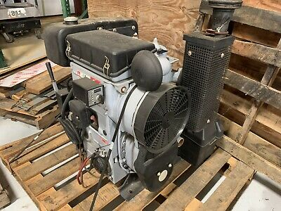 HATZ Air Cooled Diesel Engine 2 Cylinder Electric start - 2M41Z