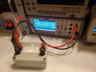 Portable 5v Volt Dc Precision Reference Voltage Standard 5.0000v Dual Powered