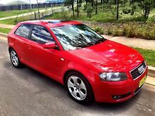 2004 Audi A3, Leather, Sunroof, Immaculate, Low KM Baulkham Hills The Hills District Preview