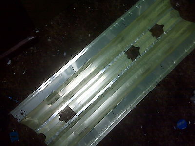 """Pfo Parallel Metal Halide Reflector for Reefs 36""""x13"""" Has Slots for Vho/T5 Bulbs"""