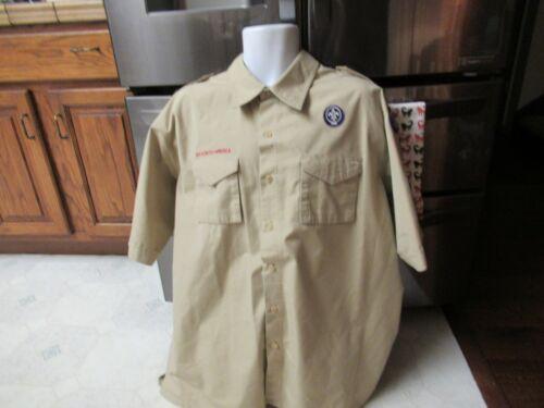 Boy scouts of america BSA XL uniform shirt patches Disneyland Good ol Beaver