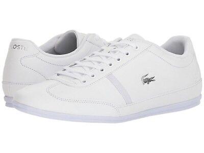 (Men's Shoes Lacoste Misano Sport 118 Lace Sneaker 35CAM013721G White *New*)