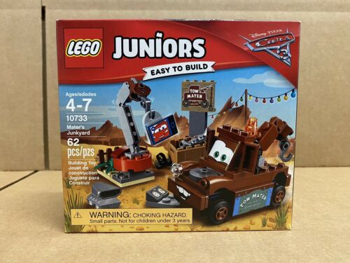 LEGO Juniors Disney Pixar Cars 3 Mater's Junkyard 10733