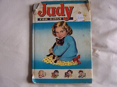 JUDY FOR GIRLS 1962 - Hardback with Dustwrapper