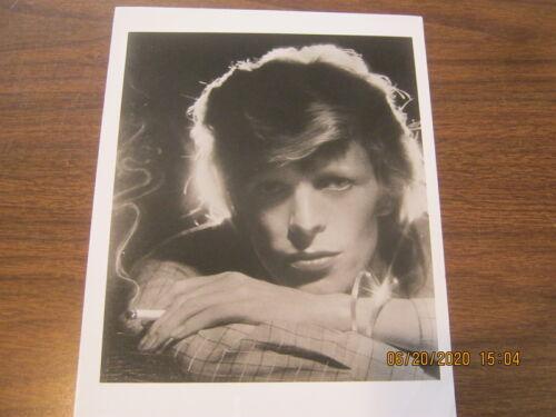 "David Bowie Original Photo YOUNG AMERICANS 8""x10"" B&W 1975 MINT RARE!"