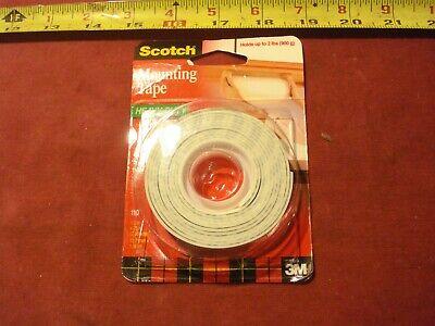 0581. 3m Double Stick Foam Mounting Tape 12 W X 75 L