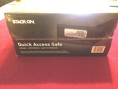 Stack-On QAS-1304-12 Personal Safe Low Profile Quick Access with Electronic Lock