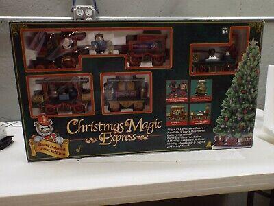 Christmas Magic Express Train Set