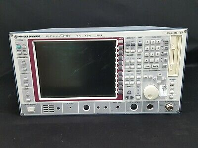Rohde Schwarz Fseb30 Spectrum Analyzer 9 Khz To 7 Ghz