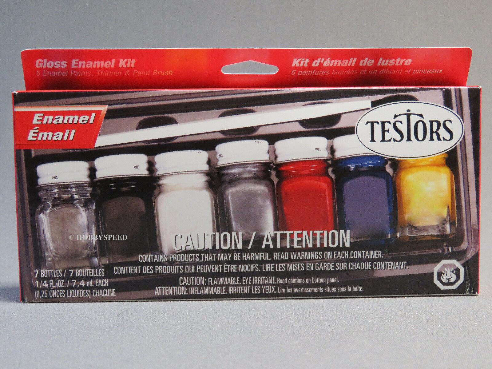 Hobby Paint Kit Enamel By Testors Mfrpartno 9115X