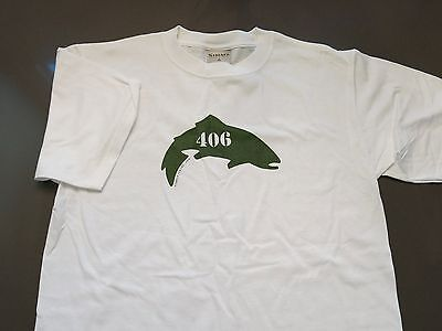 ULTRA RARE Simms 406 T-Shirt Size Size XXL PROMO ONLY!!!!!!