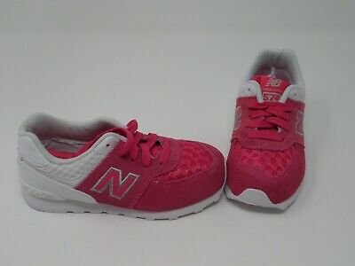 New Balance 574 Breathe Little Girls Pink / White Shoes - New Without Box