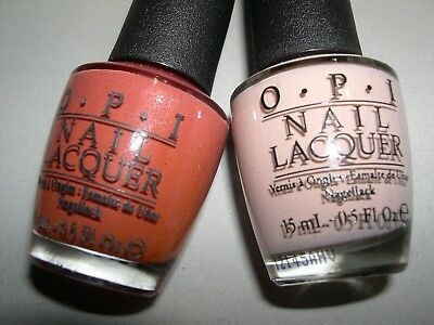 2x OPI GERMANY Lot *SCHNAPPS OUT OF IT~DON'T PRETZEL MY BUTTONS* Nail
