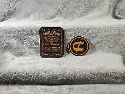 CopperSound Pedals 2 Sticker Set<>ORIGINAL<>GENUINE