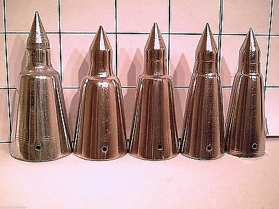 steel alpine spike tip for a walking stick or cane 5 sizes 2 pick from- U pick 1